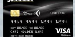 Sacombank - Thẻ tín dụng Visa Platinum