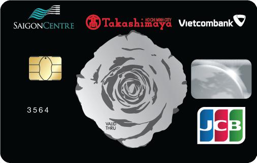 Thẻ Tín Dụng Đồng Thương Hiệu Saigon Centre - Takashimaya - Vietcombank Jcb