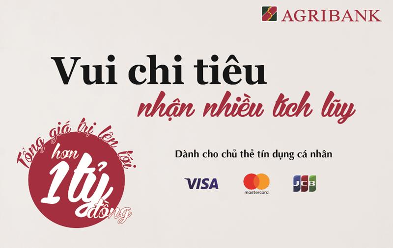 thẻ tín dụng quốc tế Agribank JCB hạng Vàng