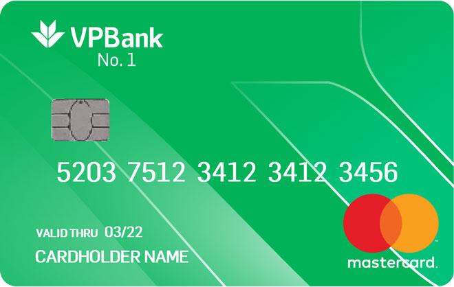 Thẻ tín dụng VPBank Number 1