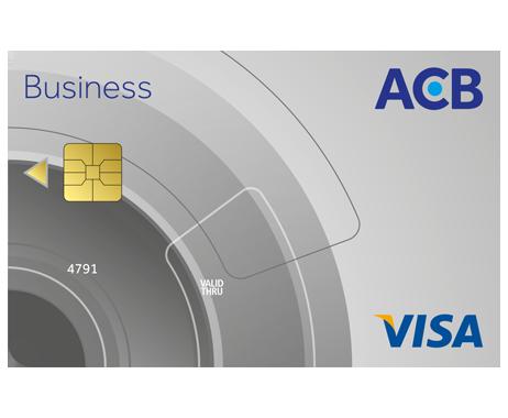 Thẻ tín dụng quốc tế ACB Visa Business