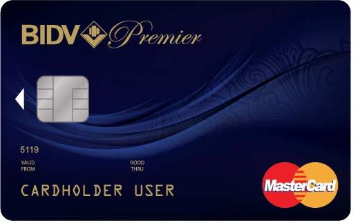 đăng kí thẻ tín dụng BIDV Premium