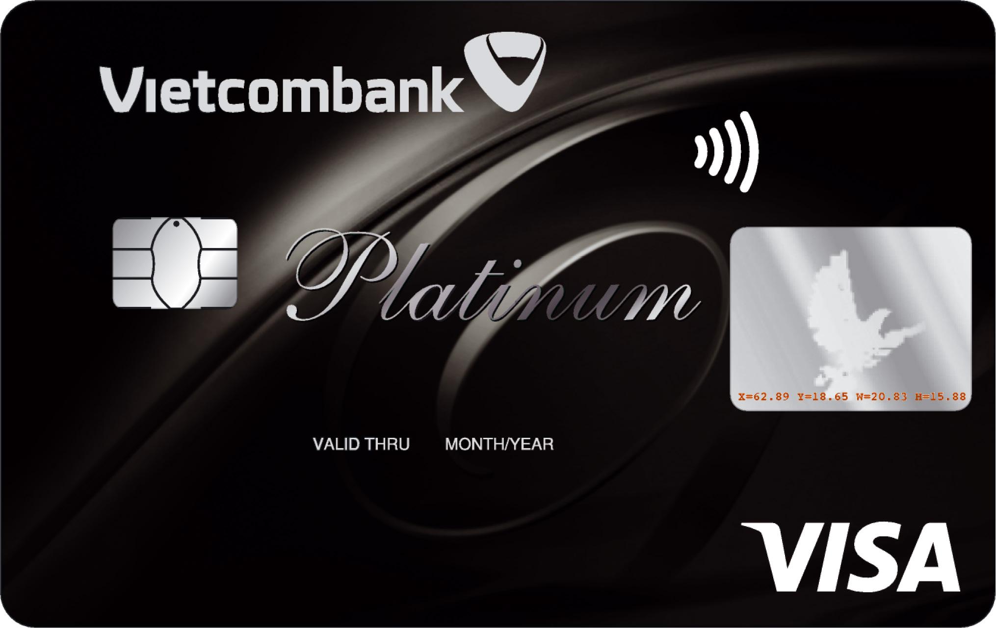thẻ tín dụng quốc tế Vietcombank Visa Platinum